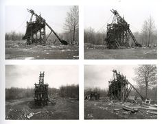 pennsylvania coal miners | Extracted from Pennsylvania Coal Mine Tipples by Bernd & Hilla Becher ...