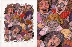Color Illustration. Travis Millard/Fudge Factory Comics.