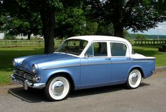 My mom had a Hillman Minx when I was a baby. Said they had to take out the passenger seat to put a baby carrier in it (would never work today)! Stick shift but on the column.oh yeah! Classic Cars British, British Sports Cars, Classic Trucks, British Car, Vintage Cars, Antique Cars, Sand Rail, Cars Uk, Automobile Industry