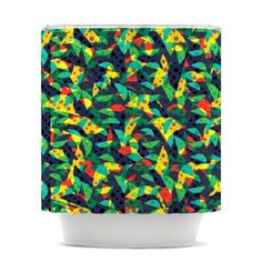 Amazon.com - Kess InHouse Akwaflorell Fruit and Fun Shower Curtain, 69 by 70-Inch