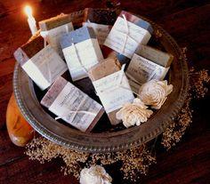 I love homemade soaps :)