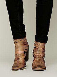Hybrid Heel Boot | Tan | Free People