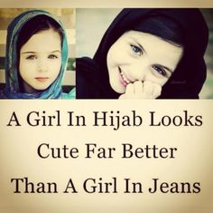So true Hijaab is beauty