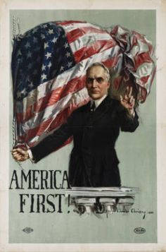 With American troops returning and America wanting to put the War and Europe behind them, President Harding promise a return to normalcy and isolationism. America First is Harding promise to America and its problems or progress over the problems of Europe.