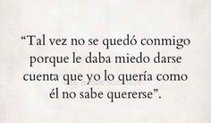 Es una posibilidad 🍃🍂 Spanish Quotes, Decir No, Like Me, Math Equations, Thoughts, Feelings, Life, Ol, Facebook