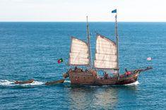 해적선, 해 적, 배, 부팅, 바다, 물, 대양, Masts, 바이킹, 항해, 돛, 세일링 보트