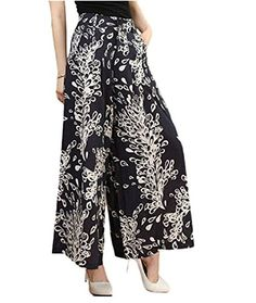 Mcdslrgo Women Lady Loose Wide Leg Culottes High Waist Wi…