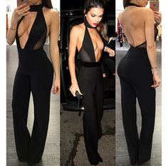 Get Kendall Jenner inspired jumpsuit!  Pinned from: www.RedSplashBoutique.com/products/kendalljumpsuit