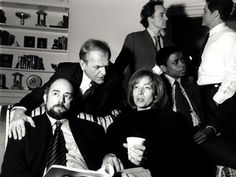 The executive staff. The West Wing.