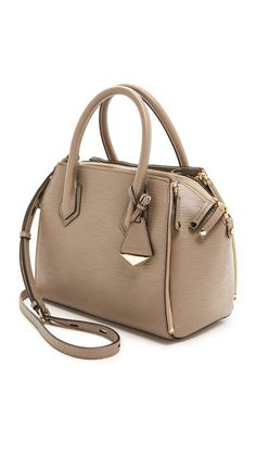Rebecca Minkoff Mini Perry Satchel Taupe