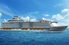 Harmony of the Seas: el mayor crucero del mundo / the world's biggest cruise ship