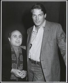 danny devito & christopher reeves