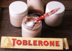 "Receitas para a Felicidade!: Iogurte de Chocolate ""Toblerone"""