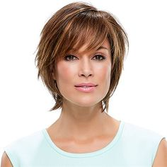 Diane -   SMARTLACE COLLECTION by Jon Renau  Combining easygoing layers with assertive texture, this sassy short shag offers deluxe comfort and SmartLace stylability, with a lace front and hand tied monofilament cap.