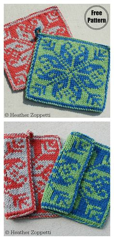 Double Knitting Square Coasters Free Knitting Pattern This Square Coasters Free Knitting Pattern with adorable texture is fun to make. Each coaster is knit in one piece and thick enough to protect your table. Knitted Squares Pattern, Knitting Squares, Double Knitting Patterns, Barbie Knitting Patterns, Knit Patterns, Free Knitting, Stitch Patterns, Knitting Projects, Triangles