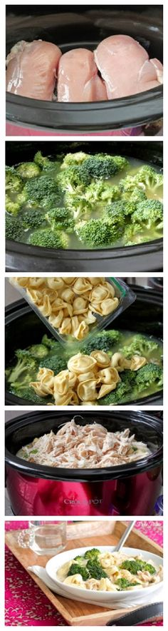 Slow Cooker Creamy Chipotle Chicken Tortellini