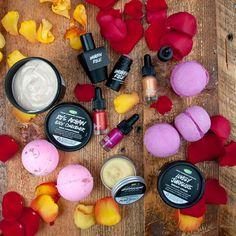 LUSH Cosmetics Blog - roses