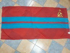 #NEW #USSR #flag of the #republic 3Turkmen #USSR #original 175x85cm #ebay #love #store #molch_ann