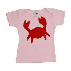 Crab Tee Shirt | #kids #clothes