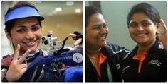 Indian shooters continued to fire up the ranges as Apurvi Chandila and Rahi Sarnobat clinched individual golds