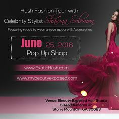 Coming to #Atlanta #June25th #MyBeautyExposed #PopUp #Boutique #Fashion #fashionstyling #AtlantaFashion #Unique #Apparel and #Accessories