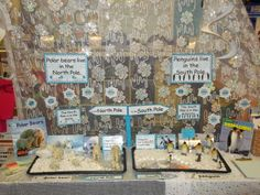 The North & South Pole . labels, instructions, non-fiction & fiction books to read and opportunities to write (from TishyLishy) Polar Bears Live, Penguins And Polar Bears, Winter Art, Winter Theme, Carnival Of The Animals, Polar Animals, Winter Activities, Preschool Winter, Fire And Ice