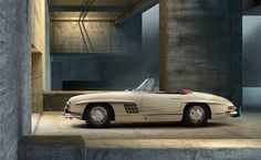 Mercedes-Benz 300 SL. Photo © 2012 René Staud. All rights reserved. For more information, visit: http://mbenz.us/M13sTP