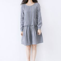 autumn spring new double layer cotton dress loose by ideacloth, $65.90
