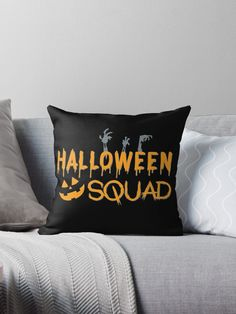 Halloween Squad – Skeleton Hands – Jack O Lantern Face • Millions of unique designs by independent artists. Find your thing.