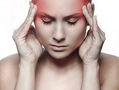 Remédios caseiros para AVC- dor de cabeça em mulher