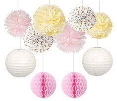 Furuix 10pcs Crème Rose Polka Dot Tissue Papier Pom Pom F... https://www.amazon.fr/dp/B01MSP6DYT/ref=cm_sw_r_pi_dp_x_JscNybT0M60A1