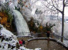 Edessa waterfall Karanos