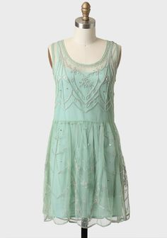 Dream A Little Dream Embellished Dress | Modern Vintage New Arrivals $54.99 I still have a slight desire to put my MOH in mint and my other three beautiful bridesmaids in shades of blush pink..
