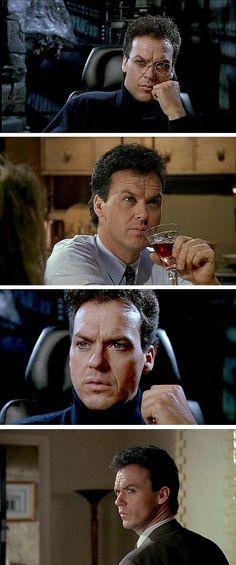 Nobody does that gaze better than Michael Keaton #batman #michaelkeaton
