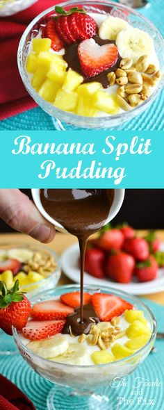 Great healthy snack or dessert recipe! This banana split swap makes a perfect after school treat!