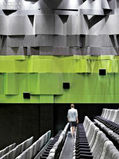 2013 BOY Winner: Common Space | Projects | Interior Design. Nanchang Insun International cinema