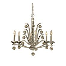 View the Uttermost 21174 6 Light Single Tier Chandelier from the Kane Collection at LightingDirect.com. $481