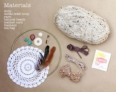 Calico skies: 52 Week Challenge: #9 DIY Dreamcatcher  This is exactly what I want - perf tutorial