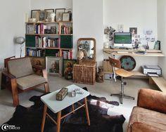 L'appartement parisien d'esprit brocante réhabilité par l'architecte d'intérieur Agathe Perroy