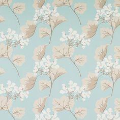 Laura Ashley  Millwood Duck Egg Wallpaper