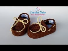 Mocassim JOSÉ EDUARDO de Crochê – Tamanho 09 cm – Crochet Baby Yara Nasc… – Knitting patterns, knitting designs, knitting for beginners. Crochet Baby Blanket Beginner, Baby Knitting, Bernat Baby Yarn, Baby Shoes Pattern, Baby Boy Shoes, Crochet Baby Booties, Crochet Videos, Crochet For Beginners, Knitted Hats
