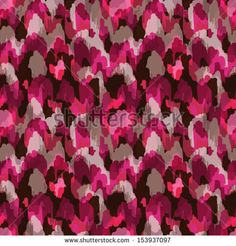 Abstract modern stylish pink animal seamless web or fabric pattern by irur, via Shutterstock