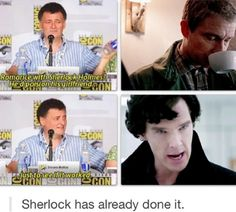 I don't ship Johnlock, but this is hilarious.
