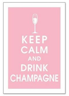 Drink champagne.When all our kids get together with us, we do Mimosas.Then all the great stories come out about remember when!!