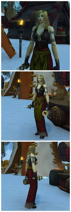 Celebrating Brewfest! Cloth transmog.