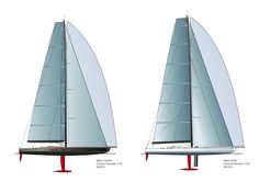 WALLY - WALLY CENTO - WALLY CLASS - SCOW - MAXI SCOW - YACHT RACING - PROJECT…