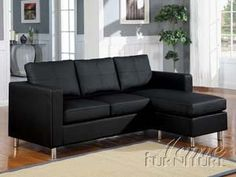 ACME 15065 Kemen Reversible Chaise Sectional with Black Bycast PU *** You can get additional details at the image link.Note:It is affiliate link to Amazon.