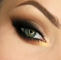 Check out our favorite autumn leaf inspired makeup look. Embrace your cosmetic addition at MakeupGeek.com!
