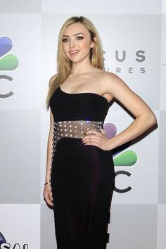 Peyton List Gorgeously pretty. Very chic dress she looks stunning. Sal P