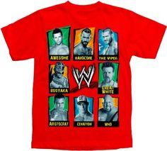 WWE Superstars Boy's T-shirt « Clothing Impulse